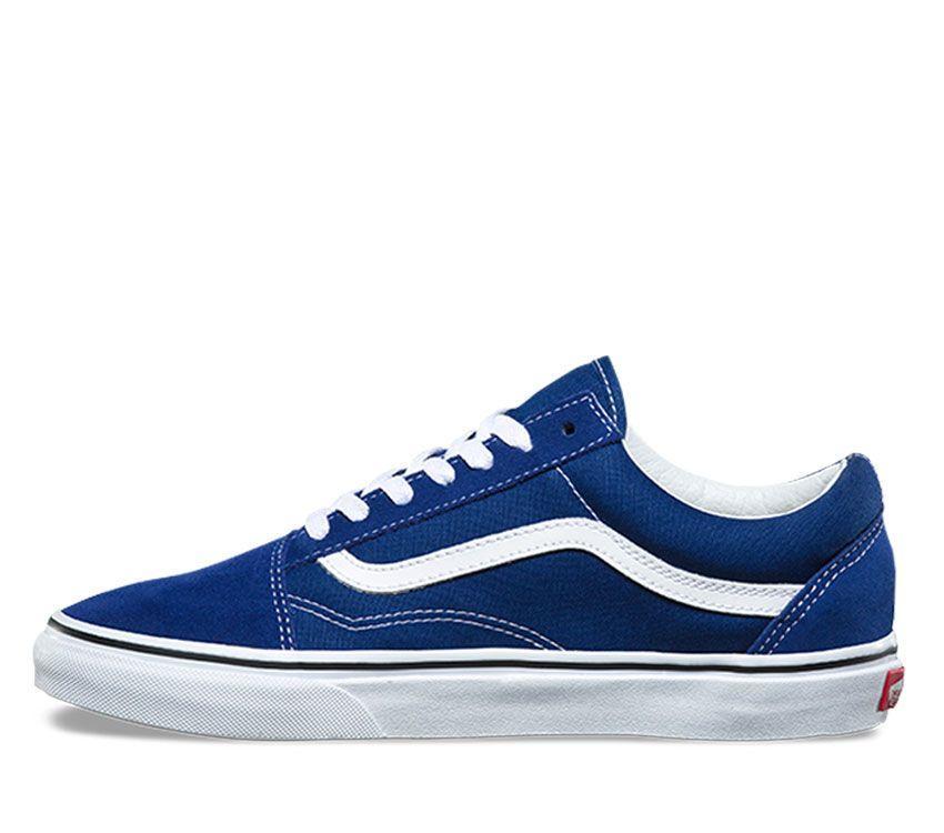 f3385305c65 Home   Womens   Footwear   Casual   Vans Old Skool Estate Blue True White